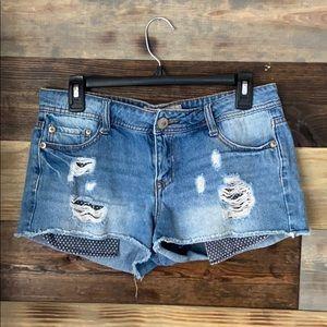 Women's Lei Ashley Low Rise Shorts Size 7